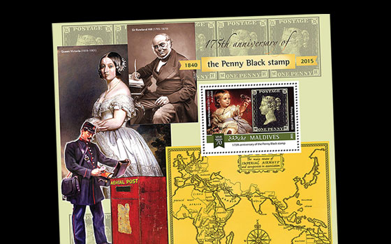 175th Anniversary of Penny Black SI