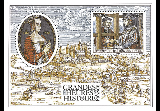 Great Moments in French History 2017 Miniature Sheet