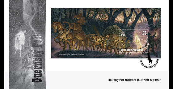Guernsey Folklore (FDC-MS) First Day Cover