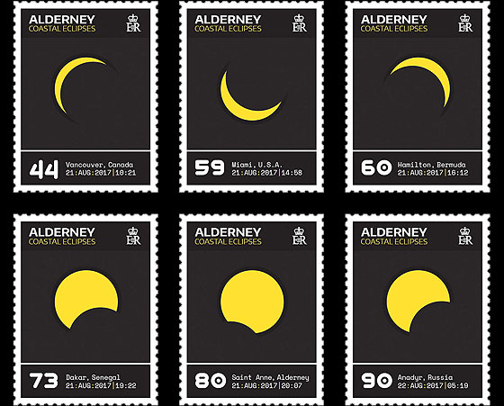 Alderney Coastal Eclipses Set