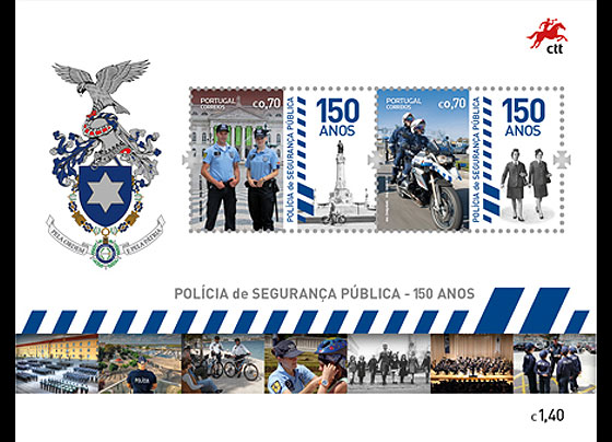 The Portuguese Public Security Police Miniature Sheet