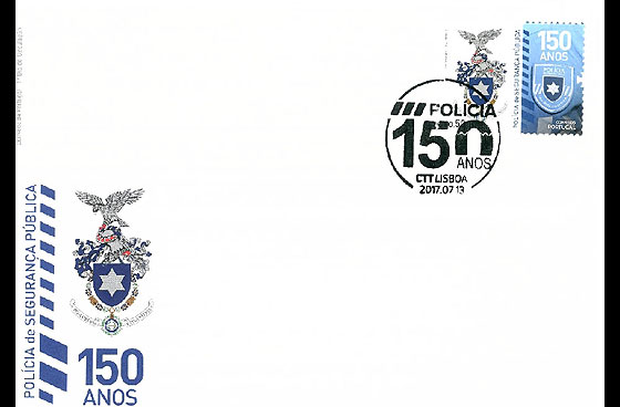 The Portuguese Public Security Police (FDC-S) First Day Cover