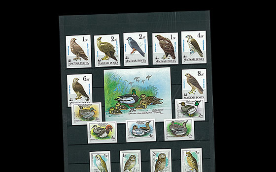 Imperforated Thematic Sets - Birds I