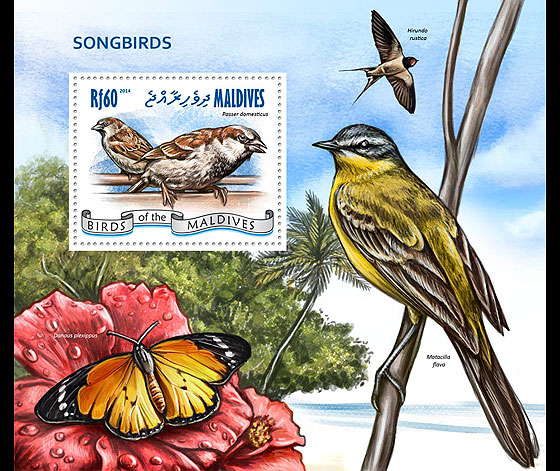 Songbirds Miniature Sheet