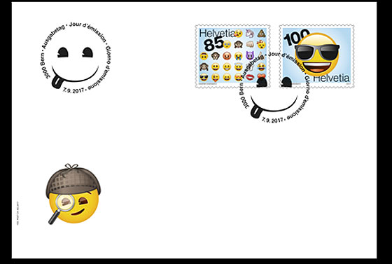 Emoji - (FDC Set) First Day Cover