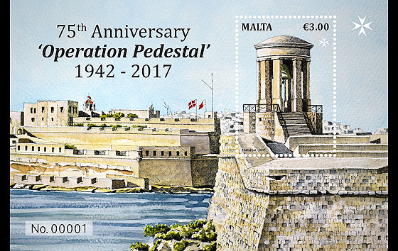 75th Anniversary 'Operation Pedestal' 1942 - 2017 Miniature Sheet