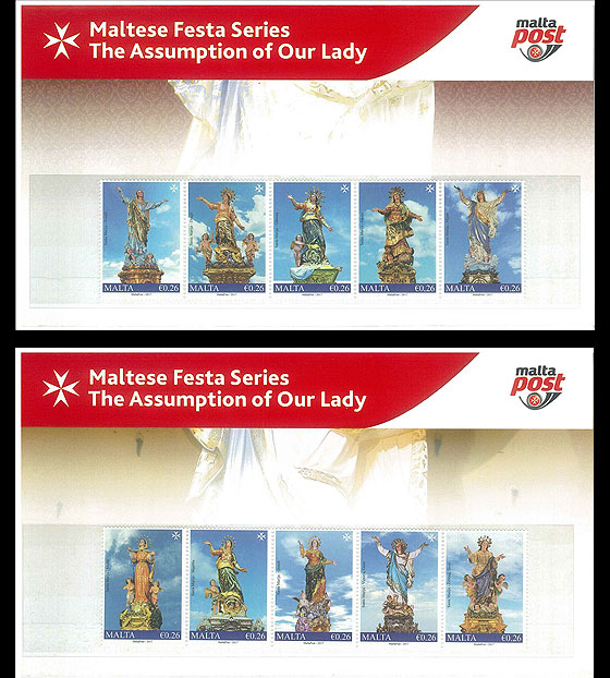 Maltese Festa Series - The Assumption Of Our Lady 2017 Presentation Pack