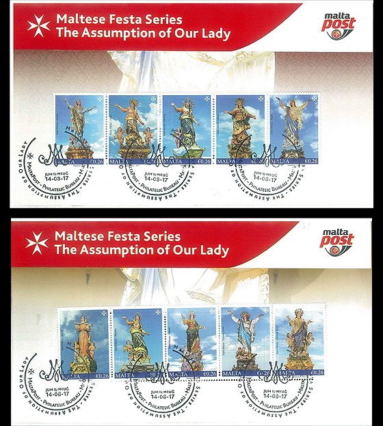 Maltese Festa Series - The Assumption Of Our Lady 2017 Special Folder