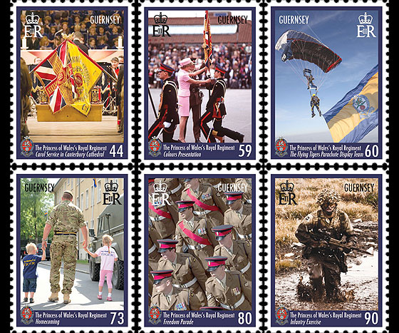 25th Anniversary of The Princess of Wales's Royal Regiment  Set