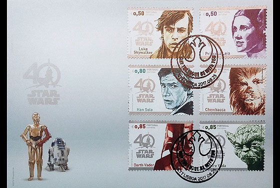 Star Wars - 40 years (FDC-S) First Day Cover