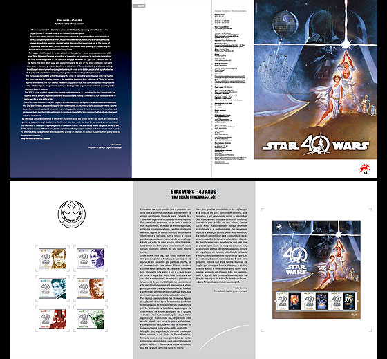 Star Wars - 40 years Special Folder