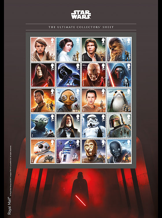 PRE ORDER Star Wars: The Last Jedi - Ultimate Collector's Sheet Collectibles