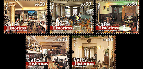 Historic Cafes II Set