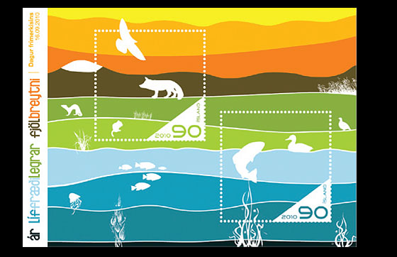 International Year of Biodiversity Miniature Sheet