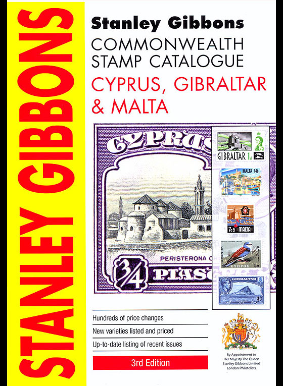 Gibraltar Stanley Gibbons Catalogue Books