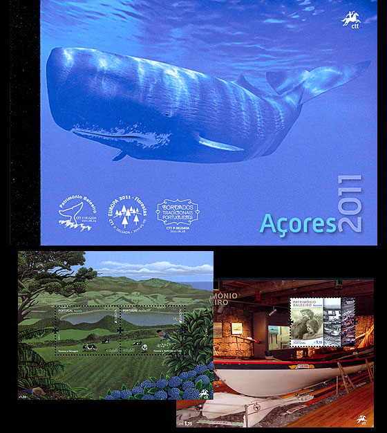 AZORES 2011 (MS Booklet) Annual Product