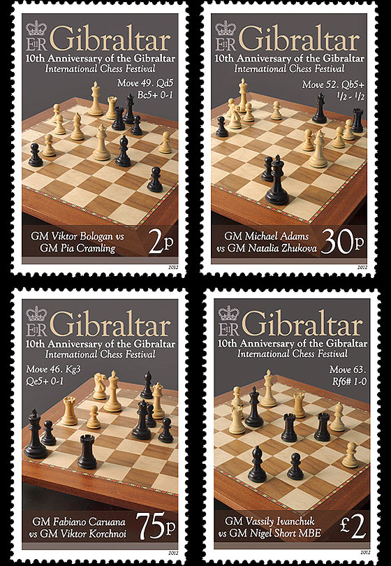 Gibraltar Chess festival 10th Anniversary Set