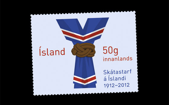 Scouting in Iceland 100th Anniversary SI