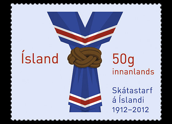 Scouting in Iceland 100th Anniversary Set