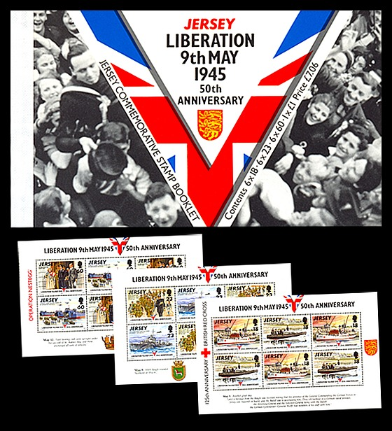 BOOKLET: Liberation 50th Anniversary Stamp Booklet