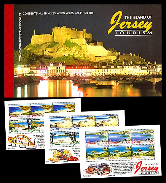 BOOKLET Tourism Stamp Booklet