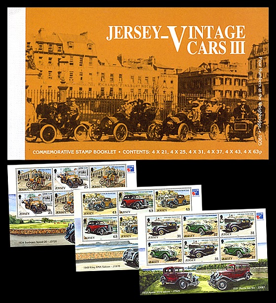 BOOKLET Vintage Cars III Stamp Booklet