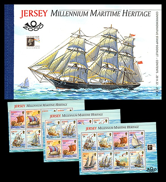 BOOKLET Maritime Heritage Stamp Booklet