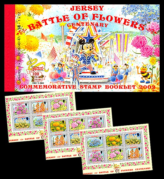 BOOKLET Battle of Flowers Centenary Stamp Booklet