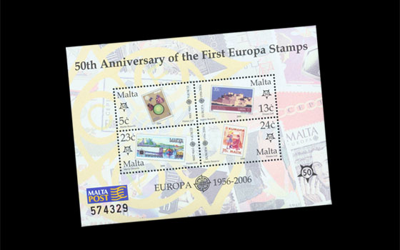 50 Years European Philatelic Cooperation SI