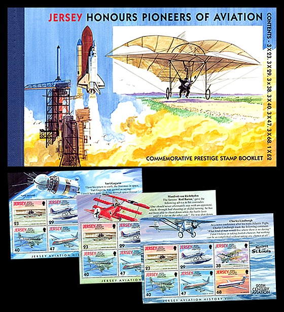 BOOKLET Aviation History VIII Stamp Booklet