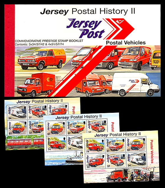 BOOKLET Postal History II - Vehicles Stamp Booklet