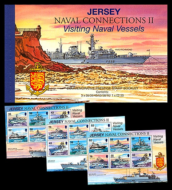 BOOKLET Naval Connections II Stamp Booklet