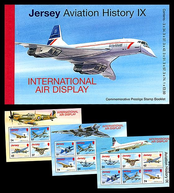 BOOKLET - Centenary of Aviation - History IX Stamp Booklet