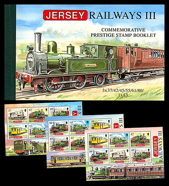 BOOKLET Railways III Stamp Booklet