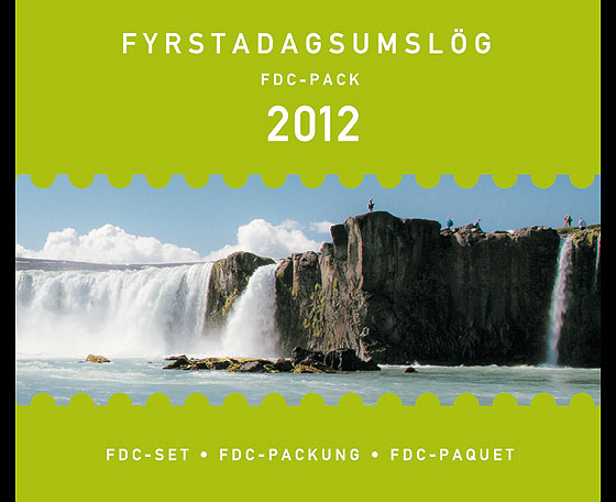 FDC Pack 2012 Year Collections
