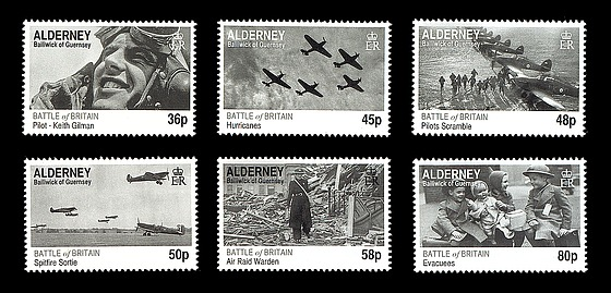 Battle of Britain Stamps Battle of Britain 70th Set