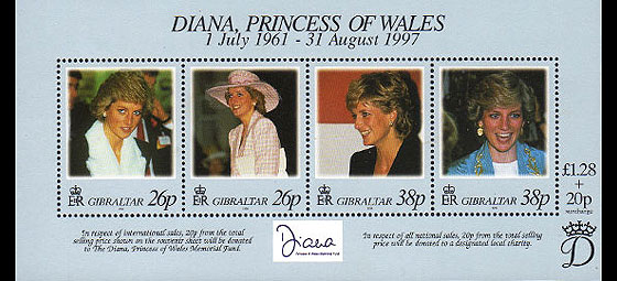 Diana Miniature Sheet