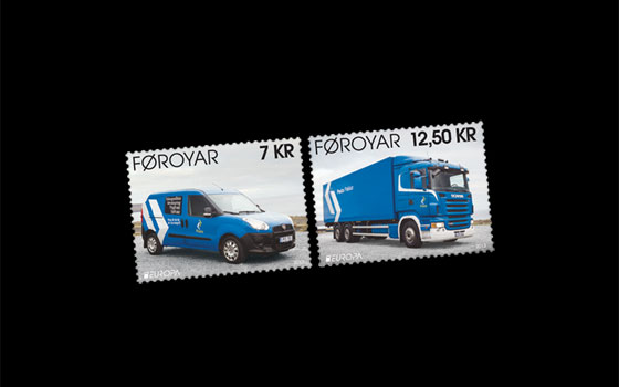 Europa 2013 - Postal Vehicles SI