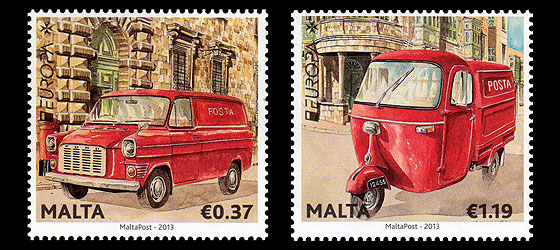 Europa 2013 – The Postman Van Set