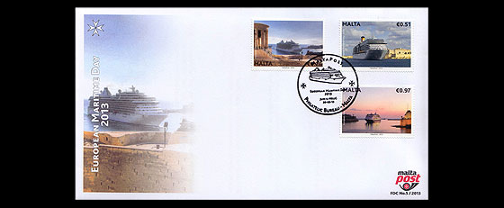 European Maritime Day First Day Cover