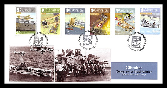 Centenary of Naval Aviation First Day Cover