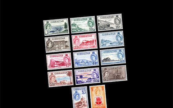60 Years 1st Stamp Definitive Of QE II 1953 SI
