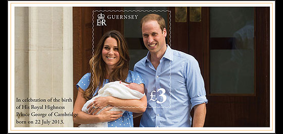 In Celebration of The Royal Birth Miniature Sheet