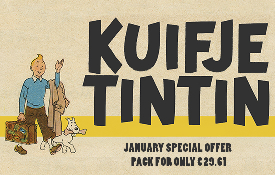 January Offer Promotion - Kuifje - Tin Tin - ONLY €29.61