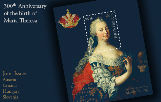 300th Ann of the Birth of Maria Theresa