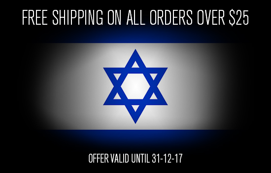 free shipping on israel orders