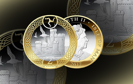 Two pounds - Tower of Refuge 2017 Decimal Coin in wallet