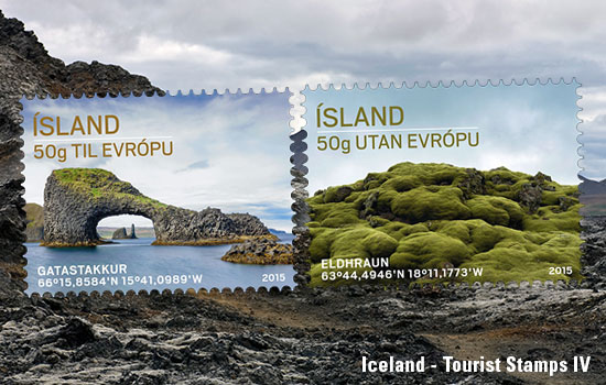 Tourist stamps IV