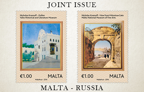 Joint Issue Malta-Russia 2016