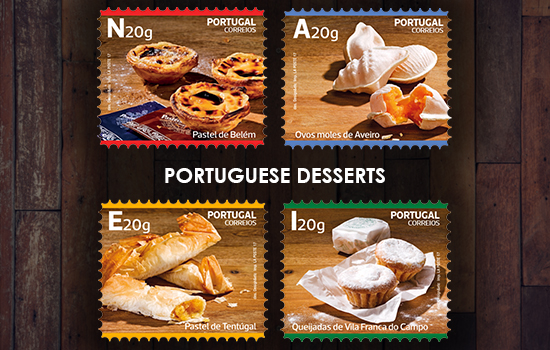 Traditional Desserts of Portugal - Self-Adhesive